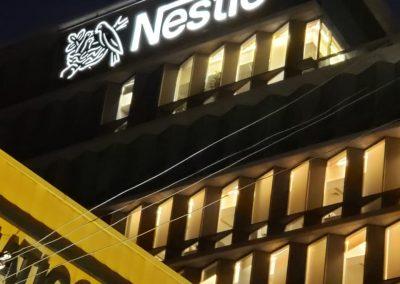 Nestle instalado